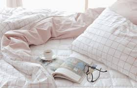 Cute bed sheets tumblr Room Home Accessory Pink Pale Aesthetic Tumblr Aesthetic Grid Checkered Bedding Tumblr Bedroom Bedsheets White Holiday Gift Where To Get It Home Accessory Pink Pale Aesthetic Tumblr Aesthetic Grid