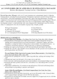 Bank Manager Resume Template Impressive Bankers Resume Summary Banking Resume Templates Word Job Format