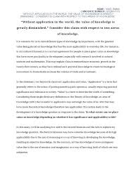 tok essay theory charles darwin