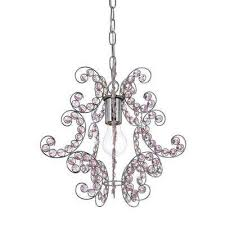 sweet dream 1 light chrome mini chandelier