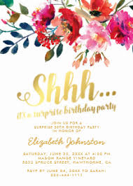 surprise birthday party invite surprise birthday invitations zazzle