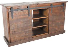 barn door tv stands astound chocolate tv console farm stand home ideas 7