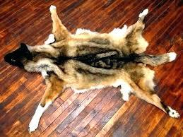 faux bear skin rug present rugs fur accents brown log cabin fake taxidermy self portrait as bear skin rug