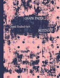 Bol Com Graph Paper Notebook Quad Ruled 4x4