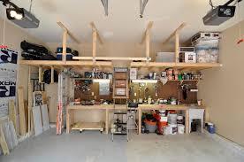 overhead garage door storage