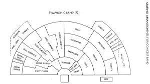 Jazz Band Seating Chart 14 Correct Concert Band Seating Arrangements