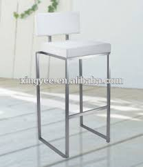 kitchen high chairs. Stackable Bar Stool Modern Furniture Kitchen High Chair Metal Stainless Steel Leather Counter Chairs