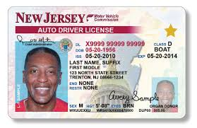 Jersey Virtual Driver's License - Card Fake Id New Maker