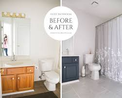 Low Budget Bathroom Remodel Painting