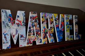 Marvel Superhero Bedroom Marvel Superhero Letters Marvel Superhero Custom Made Name