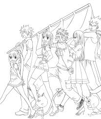 Fairytail Coloring Pages 2240705