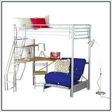white bunk bed with desk source innovative glossy bunk beds with desk and blue sofa design from metal material beside ana white loft bed desk