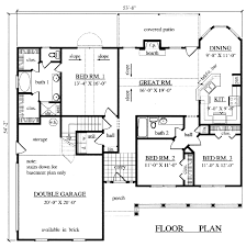 2000 sq ft house plans 3 br 2 bath nikura