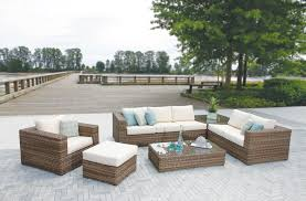 neat contemporary style bined with unmatched cushioned fort creates the perfect inviting atmosphere for your outdoor entertaining