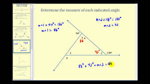 introduction to the interior and exterior angles of a triangle you