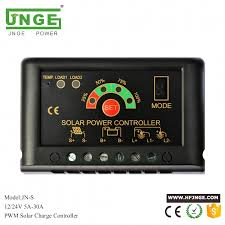 30a 12v 24v lcd intelligence auto regulate pwm solar battery charge controller with usb 5v output cell panel charger
