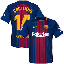 Xl Home Printing com Coutinho Jersey Amazon Clothing 2017 14 - Barcelona 2018 Style fan For The Eagles