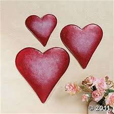 embossed metal heart shaped wall decor haleesya on red metal heart wall art with heart shaped metal wall art elitflat