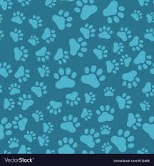 Paw Print Pattern Magnificent Decorating