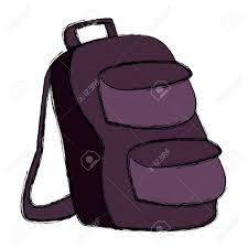 Backpack Graphic Design School Backpack Symbol Icon Vector Illustration Graphic Design