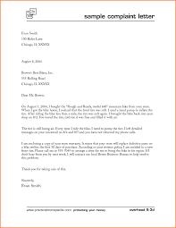 6 Letter Of Complaints Sample Adjustment Letter