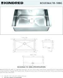 standard kitchen sink depth bathroom also s size counter bowl ada maximum sinks