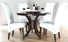 span white eg dining table dining room table elegant black wooden dining table and chairs white