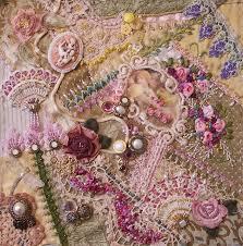 Best 25+ Crazy quilting ideas on Pinterest | Crazy quilt stitches ... & Pink