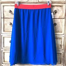 Lola Skirt Size Chart Lularoe Lola Chiffon Skirt Boutique