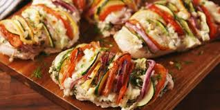 healthy food recipes for dinner. Perfect Food Greek Stuffed Chicken Inside Healthy Food Recipes For Dinner