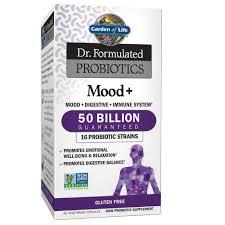 com garden of life dr formulated probiotics mood acidophilus probiotic promotes emotional health relaxation digestive balance gluten