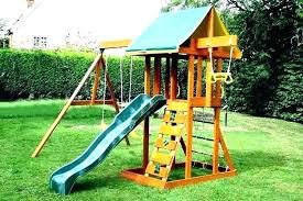 outdoor playsets for small yards swing sets yard image of space backyards happy designed kid stuff spaces c
