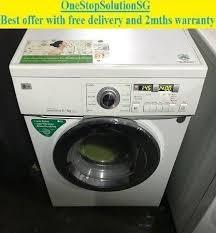 lg tromm dryer. LG TROMM (8.0 / 4.0kg) Washer Dryer 2-in-1 ( Lg Tromm N