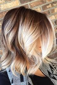 Trend Hairstyles 2018 Ombre Blonde For