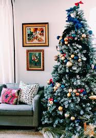 Christmas Tree Decorating Ideas: Girly, Pink and Blue, by Naomi Stein of  Design