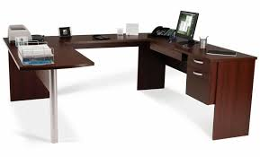 ... Excellent U Shaped Desk Ikea Walmart Desks With Wood Design And  Printer: astounding ...
