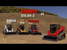 Skid Steer Size Chart Kubota Svl90 2 Compact Track Loader Advantage Video