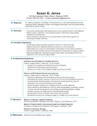 1 Page Resume 3 One Example Techtrontechnologies Com