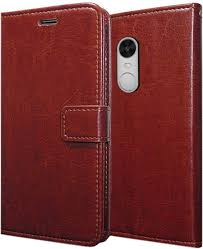 redmi note 4 back cover febelo leather flip cover