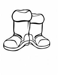 Small Picture Winter Boots Large Coloring Page Art work Pinterest Patterns