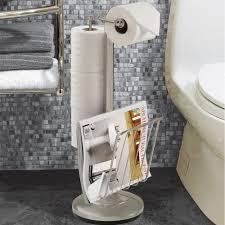 Toilet Roll Holder Magazine Rack Furniture Free Standing Toilet Paper Holder With Magazine Rack 100