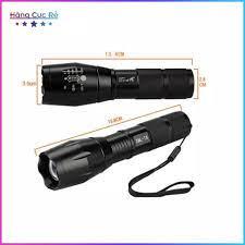 SALE 50% )Có Video - đèn pin mini bóng Q5 siêu sáng có đèn trên thân nhiều  chế độ sáng + zoom bỏ túi gọn nhẹ siêu