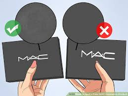 image led spot a fake mac cosmetics step 2