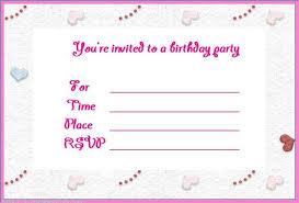Cool Free Online Birthday Invitations Online Birthday