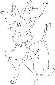 Kleurplaat Pokemon X Y 1