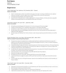 Accounting Resume Template Cool Accounting Resumemplates Microsoft Word Accountantmplate Entry Level