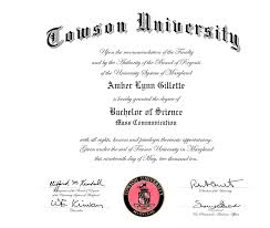 diploma amber dadourian amber l gillette bachelor of science mass communication