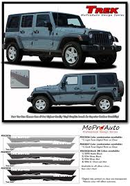 Trek Jeep Wrangler Side Door Fender To Fender Vinyl