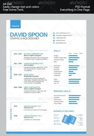 single page resume template download modern clean personal best templates . one  page resume template free download ...