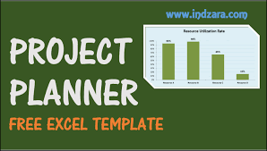Project Planner Excel Template Free Project Plan Template For
